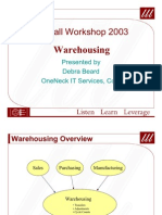 Warehousing Presentation
