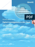 Digital Investigations in the Cloud