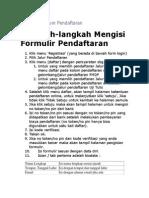 Informasi Umum Pendaftaran