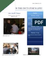 newsletter of dictator