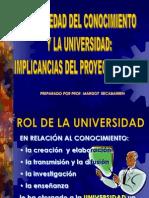 1-La Universidad y La Sociedad Del Conocimiento