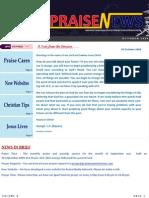 Praise News - October 2009