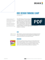 IDEX Design Thinking Camp