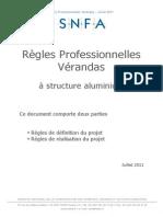 Regles Professionnelles Verandas Structure Aluminium 2011 [1]