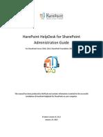 Harepoint Helpdesk Admin Guide En