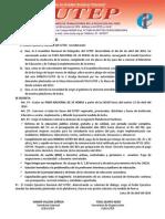Decreto Nº 001-2014 Cen Sutep - Paro Nacional (1)
