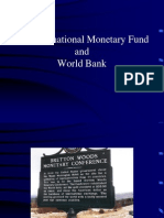 IMO and World Bank Introduction