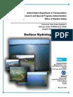 Surface Hydrology Analysis