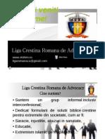 l Cr Advocacy