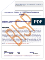 Step-By-step Process of FDMEE Default Password Change