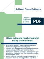 Analysis of Glass- Glass Evidence