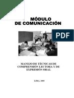 Modulo de Comprensión Lectora 2005