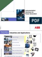 20 3 1 1 Instrumentation in Power Plants