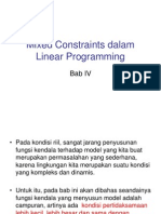 Bab 4 Mixed Constraints Dalam Linear Programming