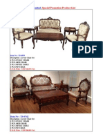 promotion-lovely chair set