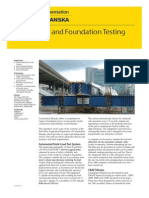 Pile and Foundation Testing