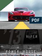 2013 SRT Viper Catalog Web