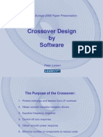 Crossover Design by Software