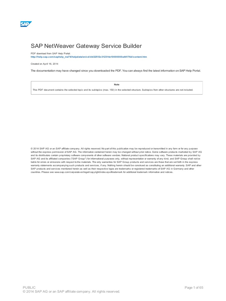 2 sap netweaver gateway service builder data model class 2 sap netweaver gateway service builder data model class computer programming malvernweather Images