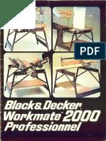 Workmate 2000 Manual