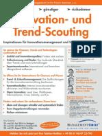 Seminar Innovation- und Trend-Scouting 2014