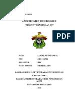 Laporan Penguat Dc Indri