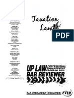 2009 Taxation Law Reviewer