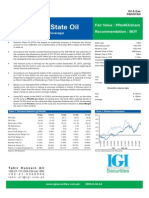 Pakistan State Oil Nov 2007 Stock Valuation