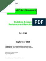 En 4 Building Energy Performance Benchmarks
