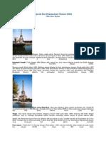 Sejarah Dan Dokumentasi Menara Eiffel