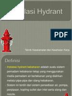 Instalasi Hydrant