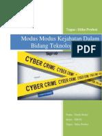 Modus Modus Kejahatan Dalam Bidang Teknologi Informasi