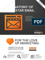 Anatomy of a Five Star Email Hubspot Updated