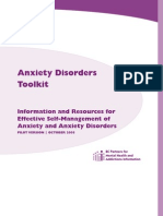 Anxiety Disorders Toolkit