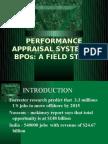 Performance Appraisal System in Bpos