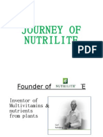 Journey of Nutrilite Final