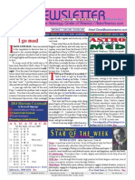 ASTROAMERICA NEWSLETTER DATED FEBRUARY 11, 2014