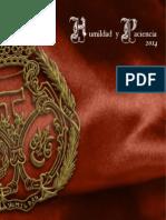 Revista Humildad y Paciencia 2014_web
