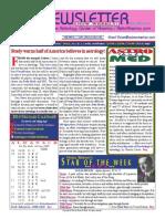 ASTROAMERICA NEWSLETTER DATED FEBRUARY 18, 2014