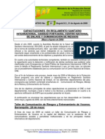 Boletín Informativo 16 2009