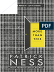 More Than This by Patrick Ness - sample chapters