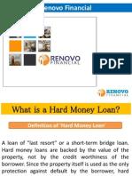 What is a Hard Money Loan