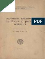 Sava, Aurel V. Documente privitoare la Târgul şi Ţinutul Orheiului. 1944