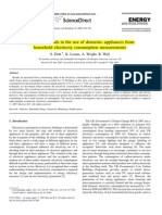 (26)Identifying Trends in the Use of Domestic Appliances From