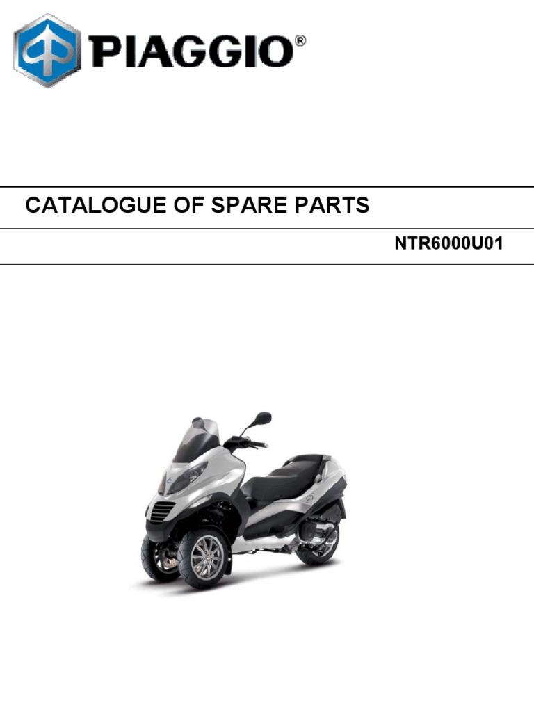 Piaggio Mp3 400 Parts