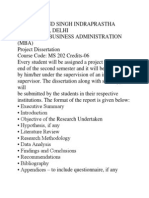 Syllabus for Mba