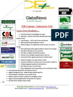 21st April,2014 Daily Global Rice E-Newsletter by Riceplus Magazine