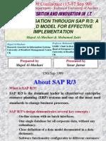 IntegratedSAP Model