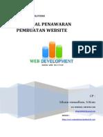 Proposal Penawaran Pembuatan Website-Portal Berita 2014 Januari