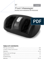 Foot Massager manual